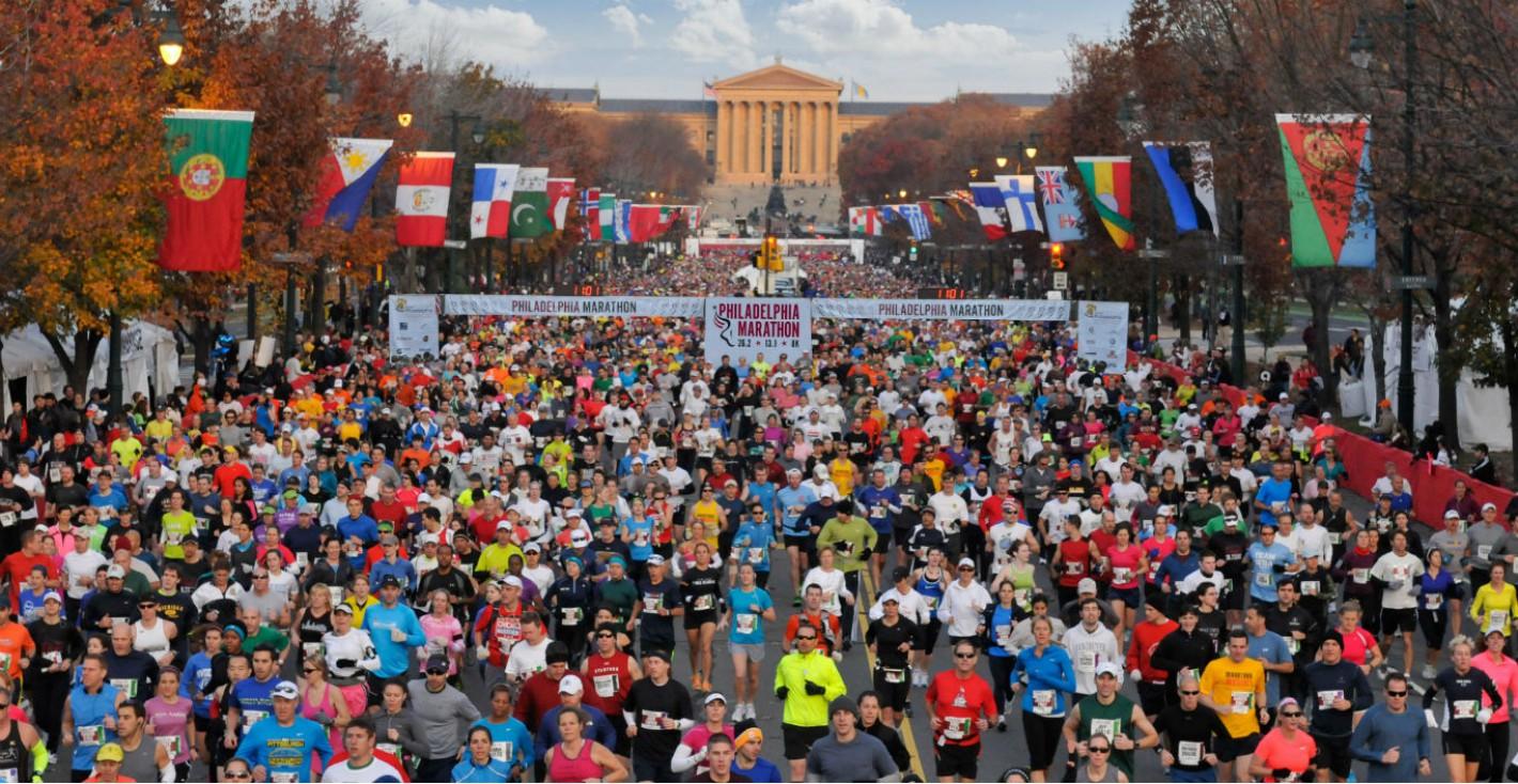 Maratón de Philadelphia 2017